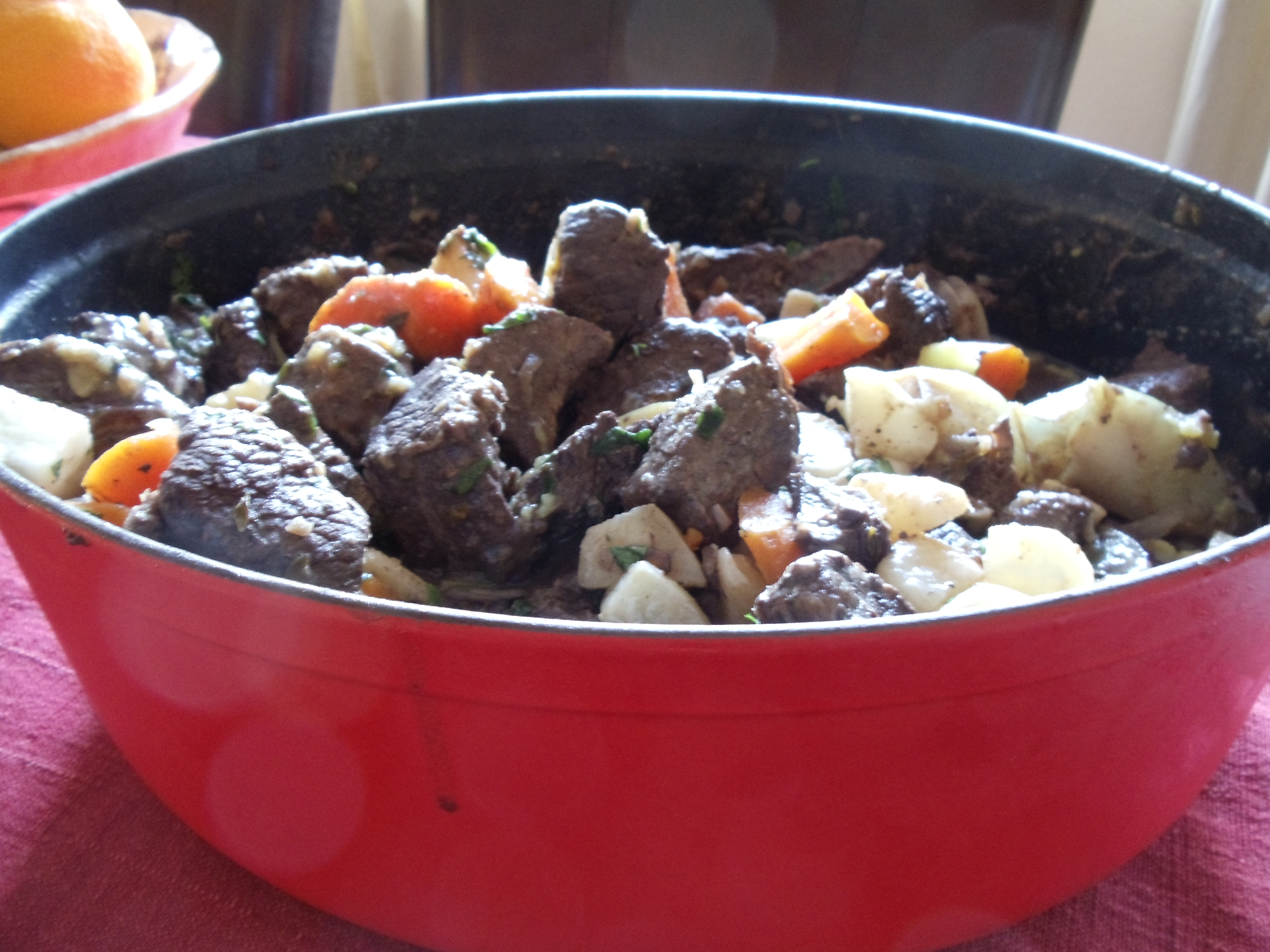 beef stew with white turnips